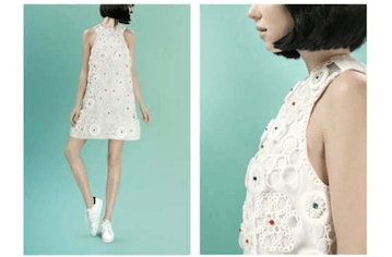3D printed Virus dress