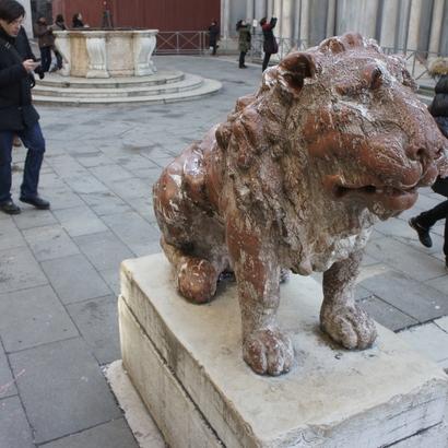 Lion in San Marco, Venice