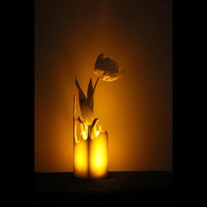 Splash vase or a candlestick