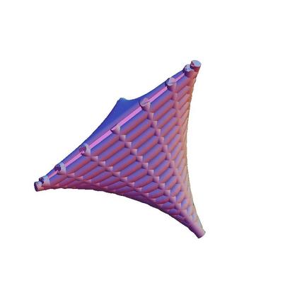 RuledTetrahedron_tubelines