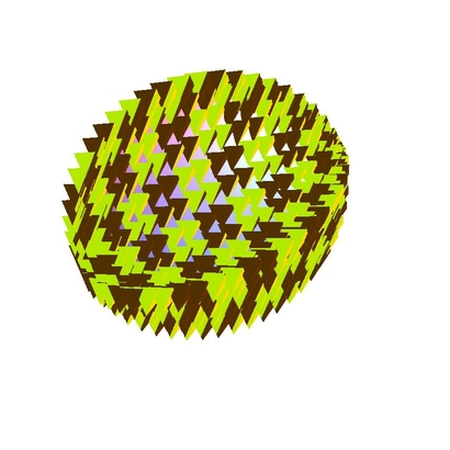 Asteroid polygons texture tetrahedrons