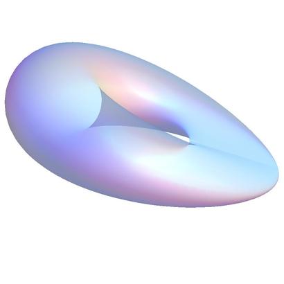 Klein bottle Clifford projection single