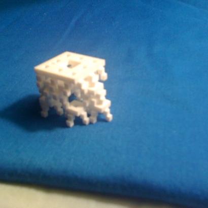 D4d Menger pyramid