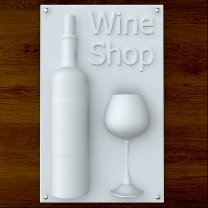 Wine Shop Sign