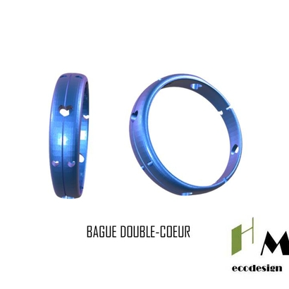 Bague Bijoux Doublecoeur