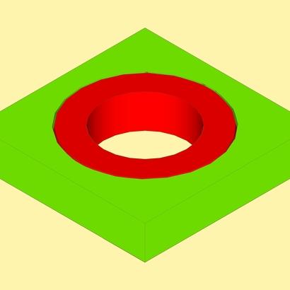 Spherical ring