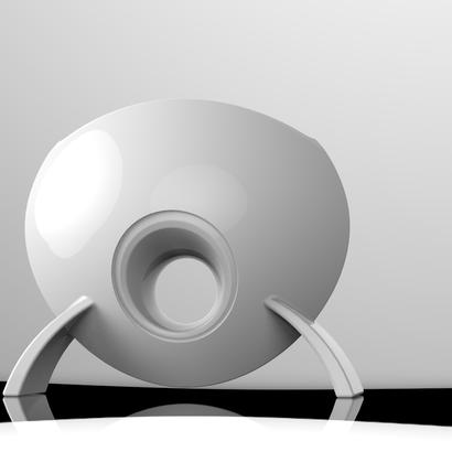 Disc-vase
