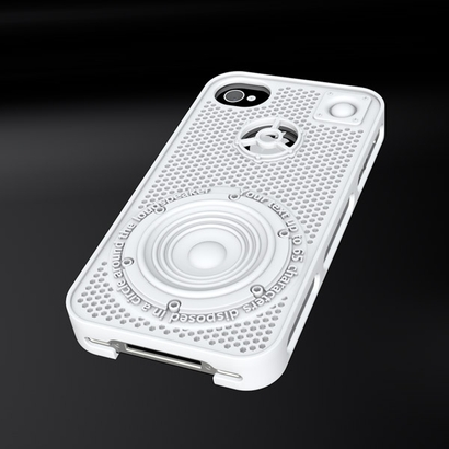 "IPhone 4 case ""Loudspeaker"" customizable"