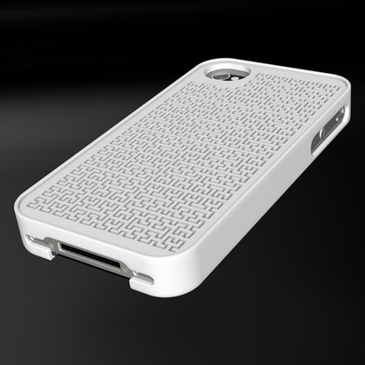 """Case for iPhone 4 """"Hilbert curve customizable"""""""