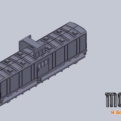MOW tool car