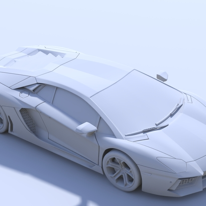 2012 Lamborghini Aventador (150mm)
