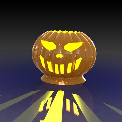 ceramic Pumpkin for kandle