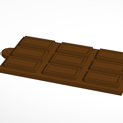 chocolate bar for tea ball