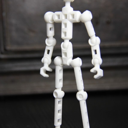 ModiBot X- Basic figure kit (Xevoz-compatible peg & ball)