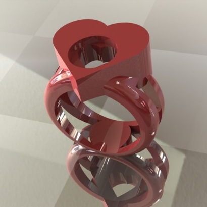 ring of hearts FR56