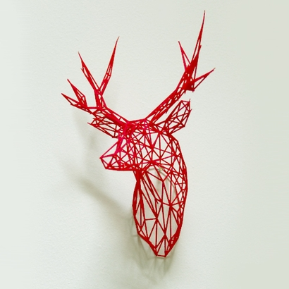 Wire Stag15cm