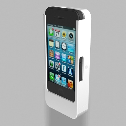 iPhone4/4s 2500mah Charger Camera Mount Nautilus