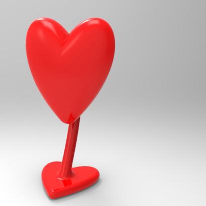 Desktop Trinket Heart