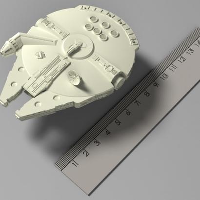 Star Wars - Millennium Falcon (100mm)