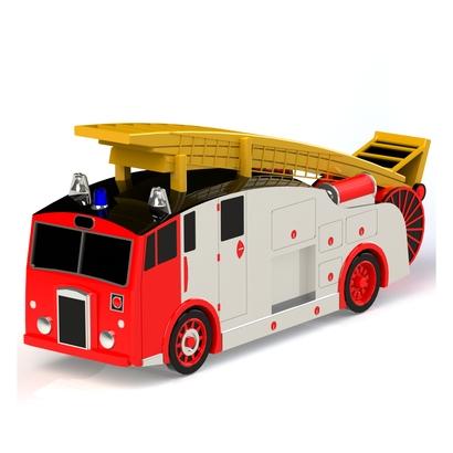 Camion Pompier anglais rétro