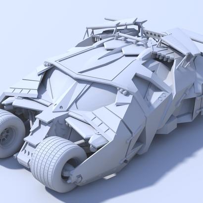 Batman - Tumbler Car [80mm & Solid]