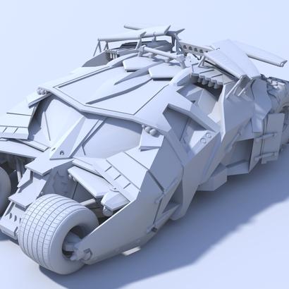 Batman - Tumbler Car [80mm & Hollow]