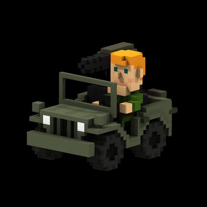 8-Bits Jeep