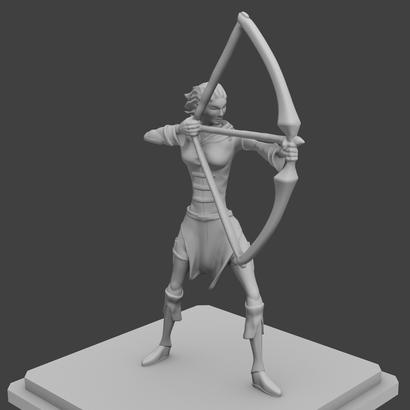 Rogue Archer figurine