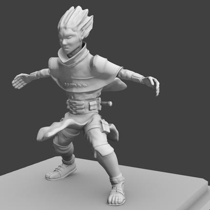 Halfling figurine