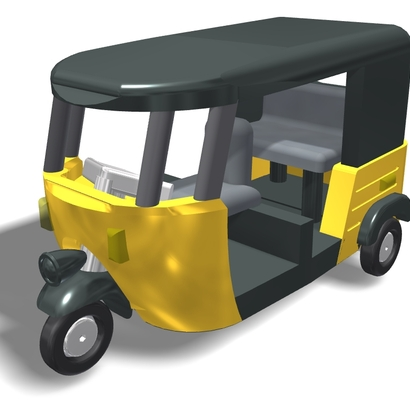 AutoRickshaw N-scale 160 V2.2