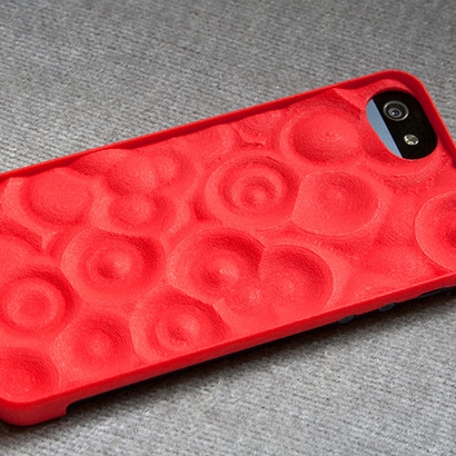 "Case for iPhone 5 ""Ripples"""