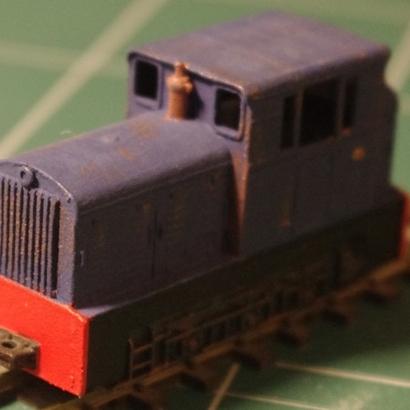 Narrow gauge locomotive CoFerNa
