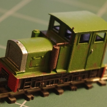 Narrow gauge locomotive Billard T80