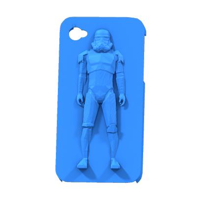 coque ephone 4 stormtrooper case