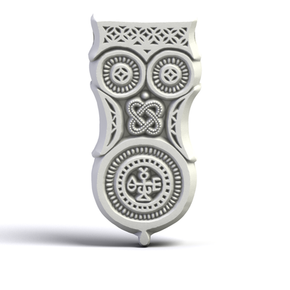 Theodore's Owl Pendant