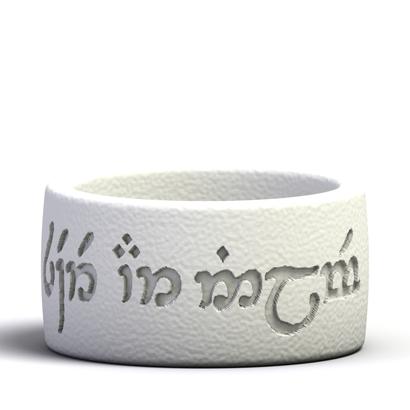"Elvish ring ""Peace and Friendship"" US8.5"