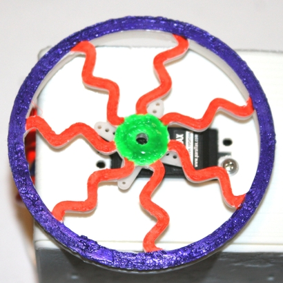 100mm FloppyBot Wheel-10
