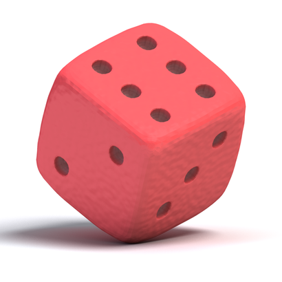 Dé rouge | red dice