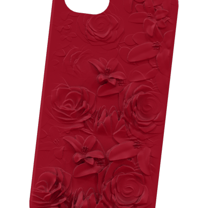 iPhone with Roses