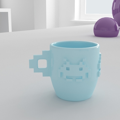 Space Invaders Espresso Cup