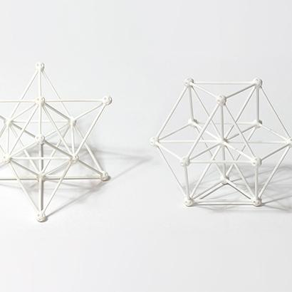 SANKAKKEI Star Tetrahedron double-pack #White #M-size