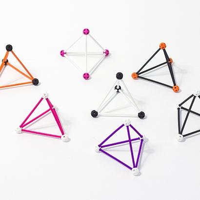 SANKAKKEI Tetrahedron #Black #M-size