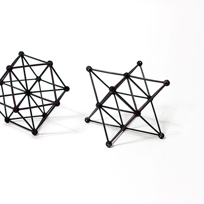 SANKAKKEI Star Tetrahedron double-pack #Black #M-size