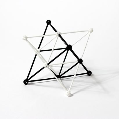 SANKAKKEI Star Tetrahedron half-pack #White #M-size