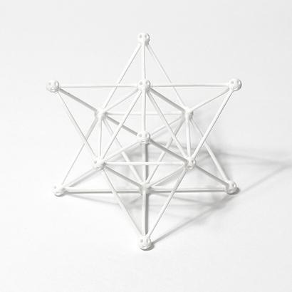SANKAKKEI Star Tetrahedron full-pack #White #M-size