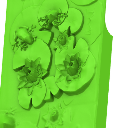 iPhone with Frogs