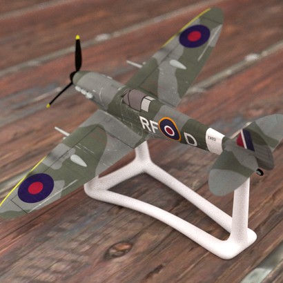 Support pour Spitfire MK Vb