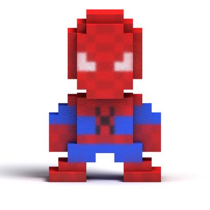 8 Bit Web Man