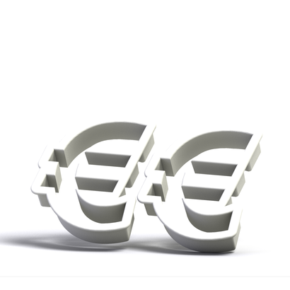 Cookie cutter (2 p.) - Euro Symbol