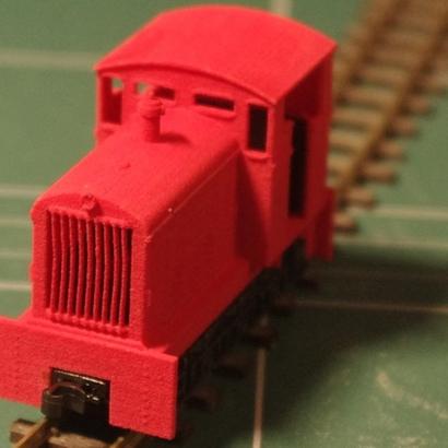 Narrow gauge locomotive CoFerNa Abreschviller